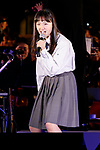Singer Emiko Suzuki performs during the 1000 Days to Go! cultural event in front of Tokyo Station on November 26, 2017, Tokyo, Japan. Japanese celebrities attended the event marking the 1000-day countdown to the 2020 Tokyo Olympics. (Photo by Rodrigo Reyes Marin/AFLO)