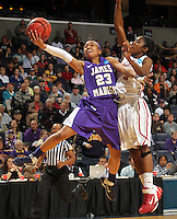 March 21, 2011; Charlottesville, Virginia, USA: Oklahoma played James Madison in the 1st round of the NCAA tournament. (Photo/Andrew Shurtleff)
