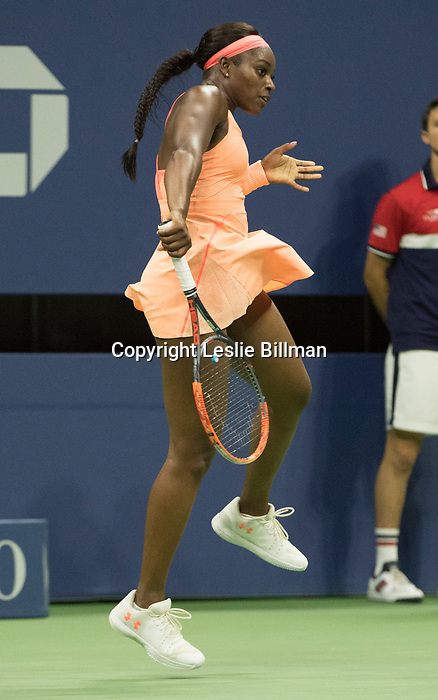 Sloane Stephens wins against Venus Williams
