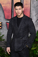 Nick Jonas at the &quot;Jumanji: Welcome to the Jungle&quot; premiere at the Vue West End, Leicester Square, London, UK. <br /> 07 December  2017<br /> Picture: Steve Vas/Featureflash/SilverHub 0208 004 5359 sales@silverhubmedia.com