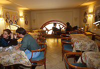 - ancient Great Oriental Coffee in Garibaldi square<br /> <br /> - antico Gran Caff&egrave; Orientale in piazza Garibaldi
