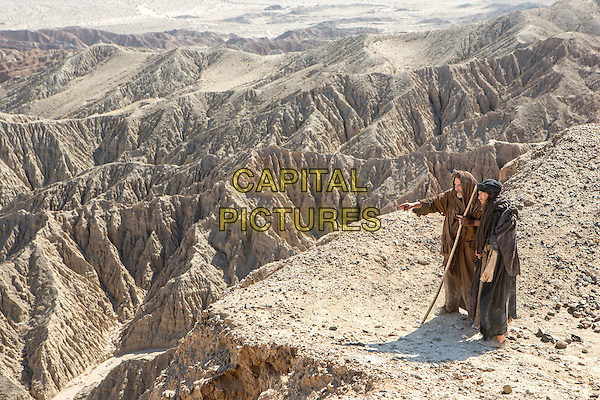 Last Days in the Desert (2015)<br /> Ciaran Hinds stars as 'Father' and Ewan McGregor as 'Jesus' <br /> *Filmstill - Editorial Use Only*<br /> CAP/KFS<br /> Image supplied by Capital Pictures