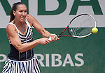 Jelena Jankovic (SRB) defeats Sorana Cirstea (ROU) 6-1, 6-2 at  Roland Garros being played at Stade Roland Garros in Paris, France on May 31, 2014