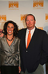Mario Batali & co-chair Susan Cahn at the Food Bank for New York City as they present the 8th Annual Can-Do Awards Dinner 2010 on April 20, 2010 at Pier Sixty at Chelsea Piers, New York City, New York. (Photo by Sue Coflin/Max Photos)