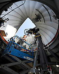 Ronnie Andrawis, 32, of Highland, a physics student at Cal State San Bernardino has played a big part in preparing the university's new Murillo Family Observatory for use. Photo taken on Wednesday, November 16, 2011.