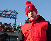 Scott Young (BU - Assistant Coach) - The Boston University Terriers defeated the University of Massachusetts Minutemen 5-3 on Sunday, January 8, 2017, at Fenway Park in Boston, Massachusetts.The Boston University Terriers defeated the University of Massachusetts Minutemen 5-3 on Sunday, January 8, 2017, at Fenway Park.