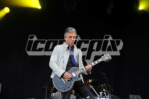 THUNDER - guitarist Ben Matthews - performing live n Day Two of the Ramblin' Man Fair at Mote Park Maidstone Kent UK - 24 Jul 2016.  Photo credit: Zaine Lewis/IconicPix