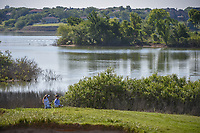 Brooke M. Henderson (CAN) looks over her approach near the trees and water on 18 during round 2 of the Volunteers of America LPGA Texas Classic, at the Old American Golf Club in The Colony, Texas, USA. 5/6/2018.<br /> Picture: Golffile | Ken Murray<br /> <br /> <br /> All photo usage must carry mandatory copyright credit (&copy; Golffile | Ken Murray)