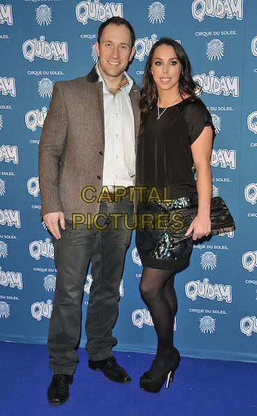 LONDON, ENGLAND - JANUARY 07: Lukasz Rozycki &amp; Beth Tweddle attend the &quot;Cirque du Soleil: Quidam&quot; VIP press night, Royal Albert Hall, Kensington Gore, on Tuesday January 07, 2014 in London, England, UK.<br /> CAP/CAN<br /> &copy;Can Nguyen/Capital Pictures