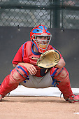 March 18th 2008:  Tuffy Gosewisch of the Philadelphia Phillies minor league system during Spring Training at the Carpenter Complex in Clearwater, FL.  Photo by:  Mike Janes/Four Seam Images
