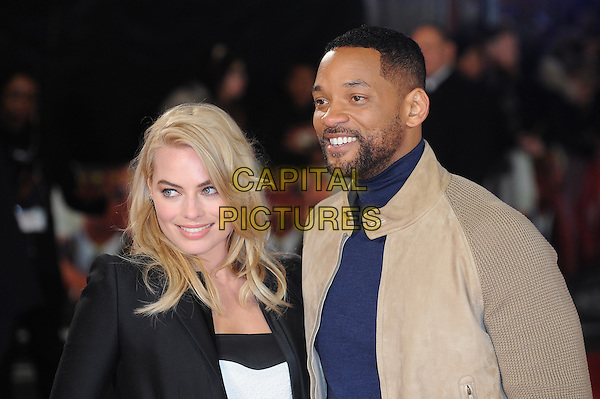 LONDON, ENGLAND - FEBRUARY 11: Margot Robbie, Will Smith attends a special screening of Focus at Vue West End on February 11, 2015 in London, England.<br /> CAP/BEL<br /> &copy;Tom Belcher/Capital Pictures