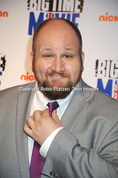 "actor Stephen Glickman attends The movie premiere of "" Big Time Movie"" starring ..Big Time Rush of Nickelodeon on March 8, 2012 at 583 Park Avenue in New York City."