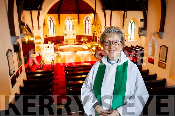 Saint John's Church Ashe Street Rev Phyllis Jones.