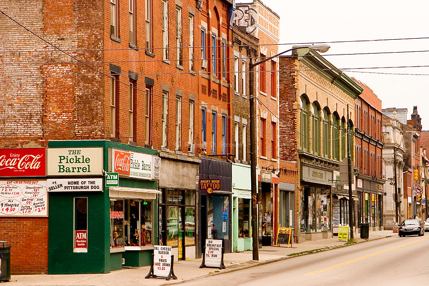 Pittsburgh's Neighborhoods - Carson St, Southside