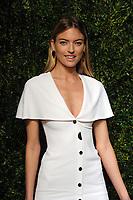 NEW YORK, NY - NOVEMBER 6: Martha Hunt at the 14th Annual CFDA Vogue Fashion Fund Gala at Weylin in Brooklyn, New York City on November 6, 2017. <br /> CAP/MPI/JP<br /> &copy;JP/MPI/Capital Pictures