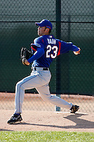 Michael Main  -Texas Rangers - 2009 spring training.Photo by:  Bill Mitchell/Four Seam Images