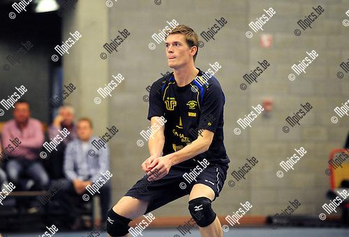 2014-08-30 / Volleybal / seizoen 2014-2015 / Amigos Zoersel / Wim Cox<br /><br />Foto: Mpics.be