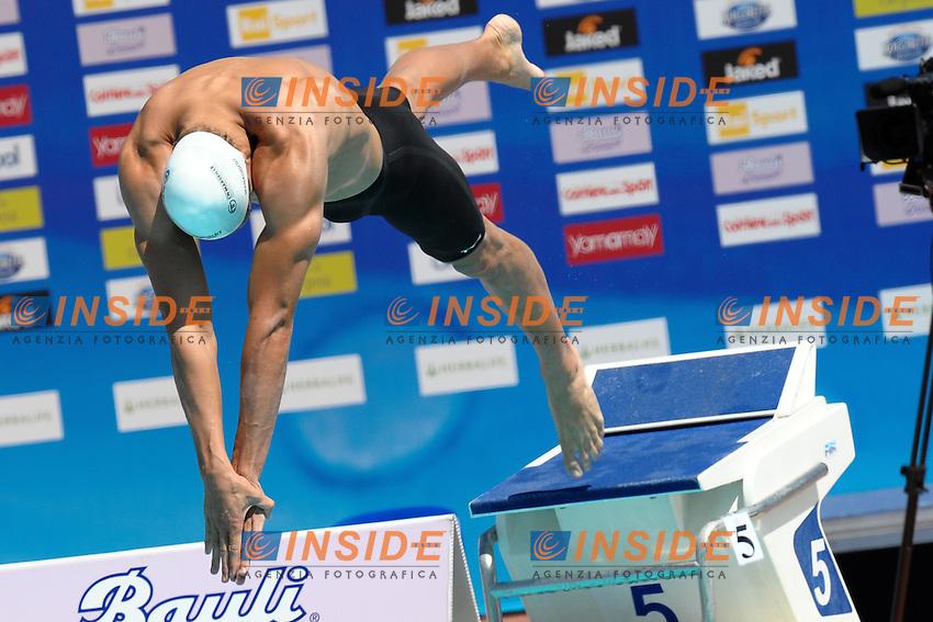Florent Manaudou France.50m freestyle men.Roma 14/6/2012 Foro Italico.Nuoto Swimming 49mo trofeo settecolli.Foto Antonietta Baldassarre Insidefoto