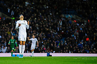 Leeds United's Helder Costa reacts after missing a chance in the first half<br /> <br /> Photographer Chris Vaughan/CameraSport<br /> <br /> The EFL Sky Bet Championship - Leeds United v Sheffield Wednesday - Saturday 11th January 2020 - Elland Road - Leeds<br /> <br /> World Copyright © 2020 CameraSport. All rights reserved. 43 Linden Ave. Countesthorpe. Leicester. England. LE8 5PG - Tel: +44 (0) 116 277 4147 - admin@camerasport.com - www.camerasport.com