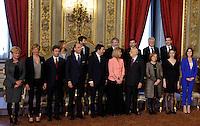20140222 ROMA-POLITICA: IL GOVERNO DI MATTEO RENZI GIURA AL QUIRINALE