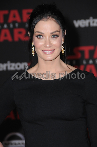 "09 December  2017 - Los Angeles, California - Dayanara Torres. Premiere Of Disney Pictures And Lucasfilm's ""Star Wars: The Last Jedi"" held at The Shrine Auditorium  in Los Angeles Photo Credit: Birdie Thompson/AdMedia"
