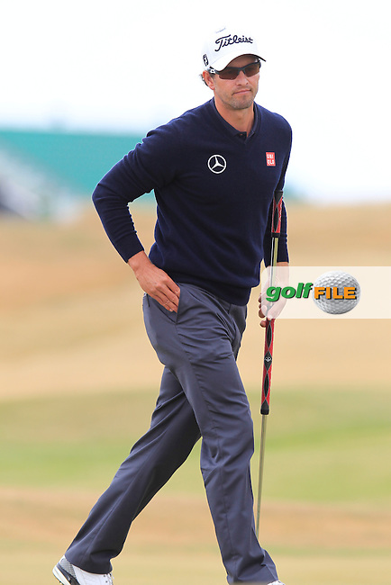 Adam SCOTT (AUS) during round 4 of  The 142th Open Championship Muirfield, Gullane, East Lothian, Scotland 21/7/2013<br /> Picture Eoin Clarke www.golffile.ie: