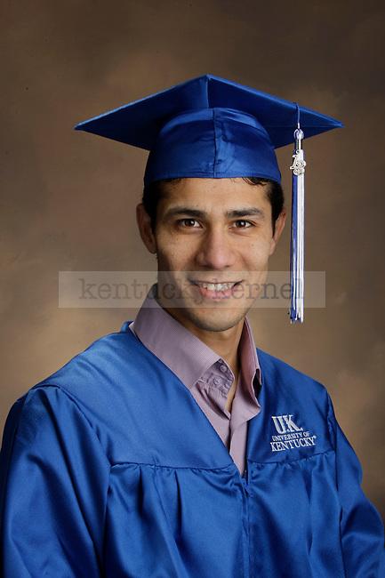 Mahmood, Osamah photographed during the Feb/Mar, 2013, Grad Salute in Lexington, Ky.