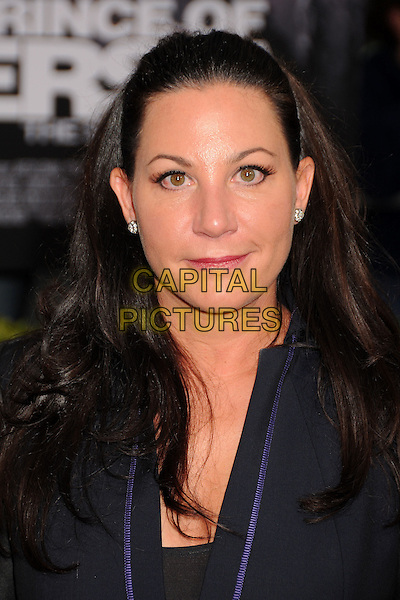 "JENNIFER ZUIKER.""Prince Of Persia: The Sands Of Time"" Los Angeles Premiere held at Grauman's Chinese Theatre, Hollywood, California, USA..May 17th, 2010.headshot portrait black purple  .CAP/ADM/BP.©Byron Purvis/AdMedia/Capital Pictures."