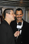 "We Love Soaps Damon L. Jacobs interviews Sebastian La Cause at A private screening of Sebastian La Cause's web series ""Hustling"" Season Two - 'cause everybody got a hustle -  was held on November 19, 2012 at TriBeca's Cinemas, New York City, New York. Days of our Lives ""Silvio"", One Live To Live and All My Children's Sebastian is the creator of Hustling along with being the writer, director and star (Photo by Sue Coflin/Max Photos)"