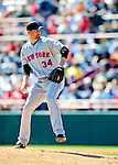 6 March 2010: New York Mets' pitcher Mike Pelfrey in action during a Spring Training game against the Washington Nationals at Space Coast Stadium in Viera, Florida. The Mets defeated the Nationals 14-6 in Grapefruit League action. Mandatory Credit: Ed Wolfstein Photo