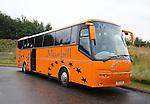 Rangers temporary team bus