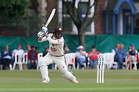 Sam Curran hits four runs for Surrey during Surrey CCC vs Essex CCC, Specsavers County Championship Division 1 Cricket at Guildford CC, The Sports Ground on 9th June 2017