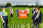 Members of the Ardfert community launch their Balloon ceremony fundraiser on Monday evening, for Comfort for Chemo, which goes ahead on Sunday June 28th at 8pm in Casements View Ardfert.  <br /> Front right: Brenda O'Connor. <br /> Back l to r: Gda Mary Gardiner, Mairead Enright, Mary Fitzgerald, Therese Carroll and Breda Duggan
