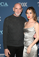 04 January 2018 - Pasadena, California - Mitch Pileggi, Sawyer Scout Pileggi. 2018 Winter TCA Tour - FOX All-Star Party held at The Langham Huntington Hotel. <br /> CAP/ADM/FS<br /> &copy;FS/ADM/Capital Pictures