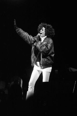 Whitney Houston performing at Concerts on the Common in Boston MA 1986 and 1987