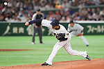 Hirotoshi Masui (JPN), <br /> MARCH 14, 2017 - WBC : <br /> 2017 World Baseball Classic <br /> Second Round Pool E Game <br /> between Japan 8-5 Cuba <br /> at Tokyo Dome in Tokyo, Japan. <br /> (Photo by YUTAKA/AFLO SPORT)
