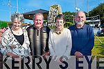 SUNSHINE: Attending the Ballyheigue Pattern day on Monday at St May's Well, l-r: Eileen and James Mangan (Miltown), Mary and Brian Gallagher (Farranfore).