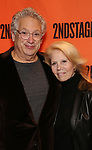 Harvey Fierstein and Daryl Roth attends the Off-Broadway Opening Night performance of the Second Stage Production on 'Torch Song'  on October 19, 2017 at Tony Kiser Theater in New York City.