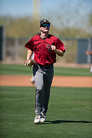 Arizona Diamondbacks first baseman Pavin Smith (35) during a Minor League Spring Training game against the San Francisco Giants at Salt River Fields at Talking Stick on March 28, 2018 in Scottsdale, Arizona. (Zachary Lucy/Four Seam Images)