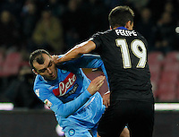 Goran Pandev   durante l'incontro di calcio di Serie A  Napoli Parmi allo  Stadio San Paolo  di Napoli , 23 Novembre 2013<br /> Foto Ciro De Luca