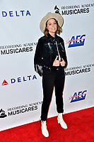 LOS ANGELES, CA. February 08, 2019: Brandi Carlile at the 2019 MusiCares Person of the Year Gala honoring Dolly Parton at the Los Angeles Convention Centre.<br /> Picture: Paul Smith/Featureflash