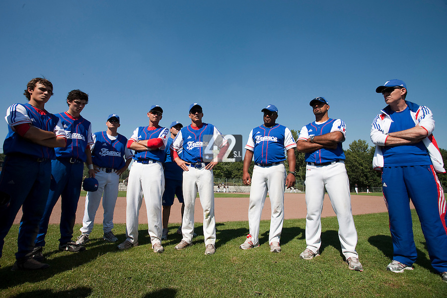 Baseball - 2009 European Championship Juniors (under 18 years old) - Bonn (Germany) - 04/08/2009 - Day 2 - Team France