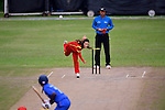 Ruan Xiang of China in action during their ICC 2016 Women's World Cup Asia Qualifier match between China and Thailand on 13 October 2016 at the Tin Kwong Road Cricket Recreation Ground in Hong Kong, China. Photo by Marcio Machado / Power Sport Images