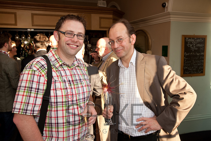 Steve Weston (left) of Novus Transform and Andrew Schlich of AST Language Services