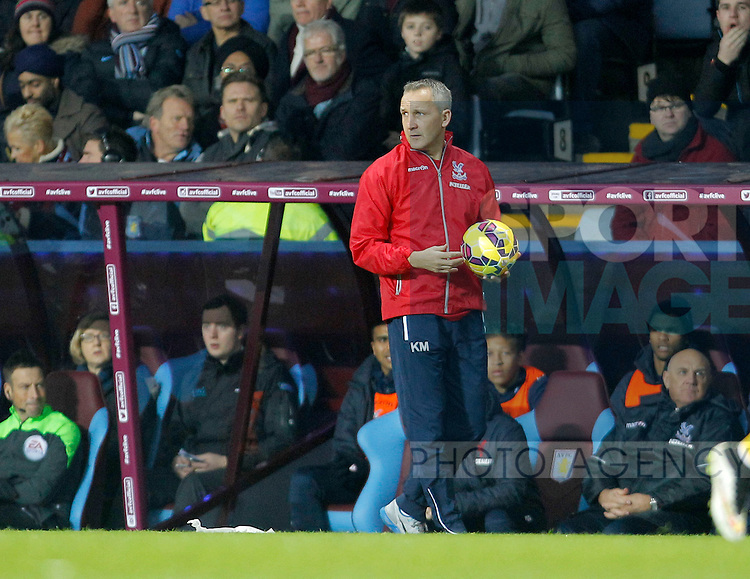 Palace caretaker manager Keith Millen - Barclays Premiership Football - Aston Villa v Crystal Palace - Villa Park  Birmingham - Season 14/15 - 01/01/2015 <br /> Photo: Malcolm Couzens/Sportimage