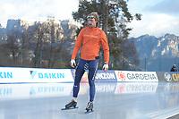 SPEED SKATING: COLLALBO: Arena Ritten, 10-01-2019, ISU European Speed Skating Championships, Ronald Mulder (NED), ©photo Martin de Jong