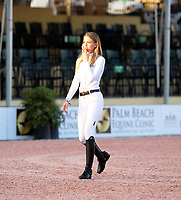 WELLINGTION, FL - FEBRUARY 10: SATURDAY NIGHT LIGHTS &ndash; $384,000 FIDELITY INVESTMENTS&reg; GRAND PRIX CSI 5*. Eve Jobs is the youngest child of late Apple founder Steve Jobs sighted on February 10, 2018  in Wellington, Florida.<br /> CAP/MPI122<br /> &copy;MPI122/Capital Pictures