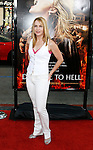 "HOLLYWOOD, CA. - May 12: Renée O'Connor arrives at the premiere of Universal Pictures' ""Drag Me To Hell"" at Grauman's Chinese Theatre on May 12, 2009 in Hollywood, California."