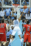 09 November 2012: North Carolina's J.P. Tokoto (25) takes a layup. The University of North Carolina Tar Heels played the Gardner-Webb University Runnin' Bulldogs at Dean E. Smith Center in Chapel Hill, North Carolina in an NCAA Division I Men's college basketball game. UNC won the game 76-59.