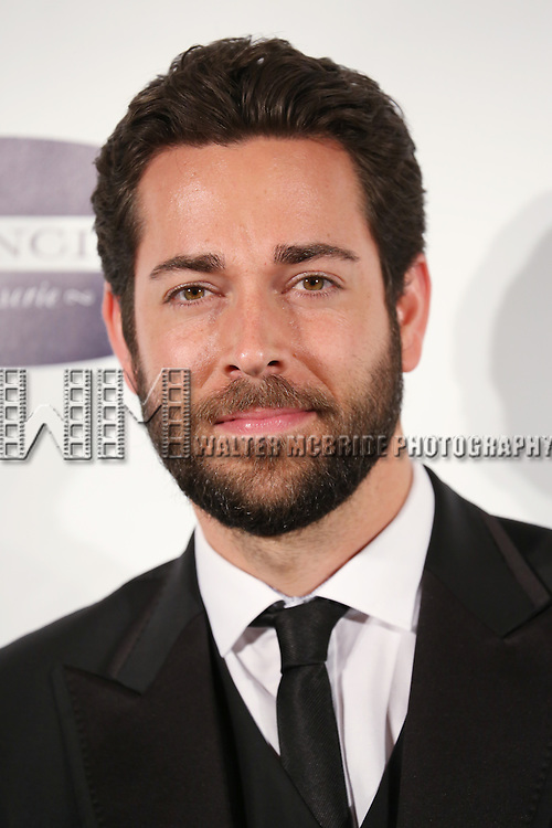 Zachary Levi attends the Drama League's 30th Annual 'Musical Celebration of Broadway' honoring Neil Patrick Harris at the Pierre Hotel on February 3, 2014 in New York City.